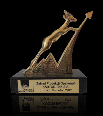 GAZELA BIZNESU 2012