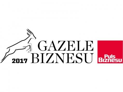 GAZELE BIZNESU 2017 - kolejny tytuł