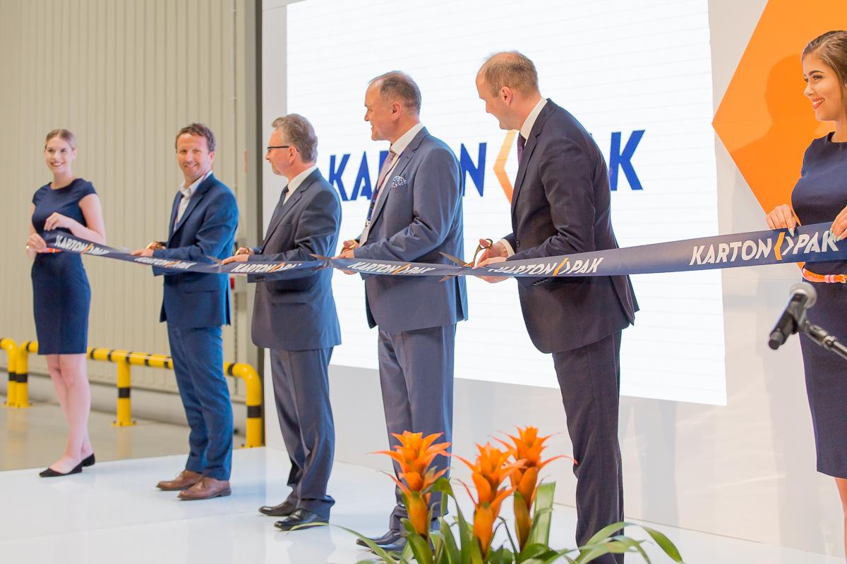 otwarcie zakładu produkcji opakowań Karton-Pak S.A